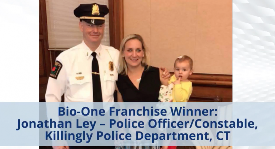FIRST OFFICER AWARDED A BIO-ONE FRANCHISE!